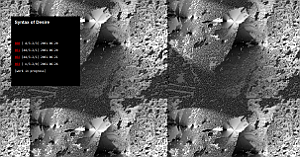 Ekran dela Syntax of Desire.